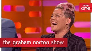 The time Pink thought Robbie Williams was a chef - The Graham Norton Show: 2017 - BBC One