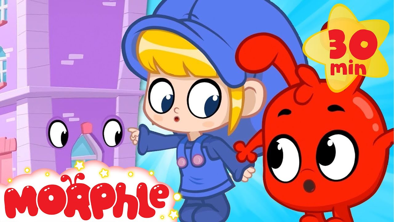 Morphle And The Moving House - My Magic Pet Morphle | Cartoons For Kids | Morphle | Mila and Morphle
