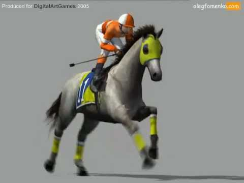 3d horse racing youtube for Show pool horse racing