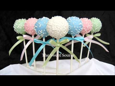 Jungle Theme Baby Shower Cake Pops