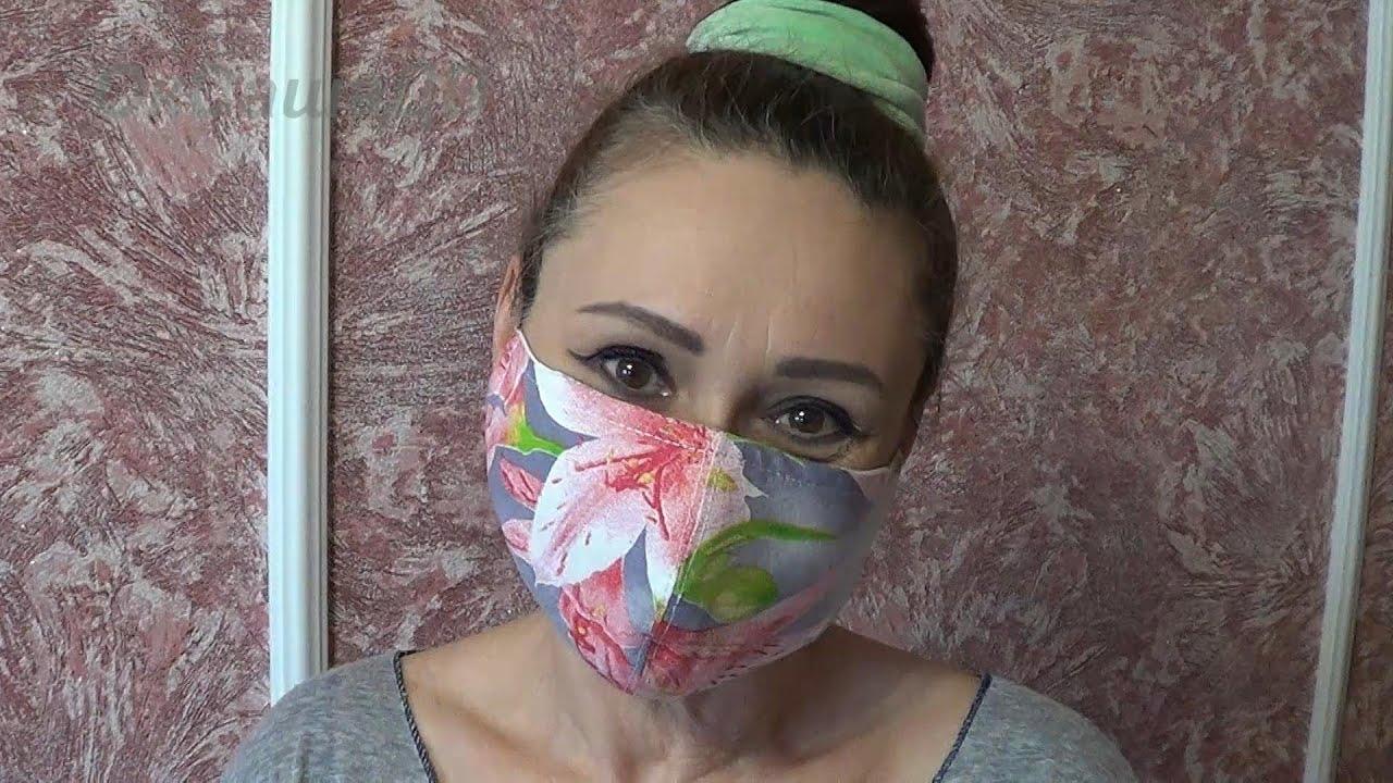 Защитная маска своими руками. DIY Face Mask.