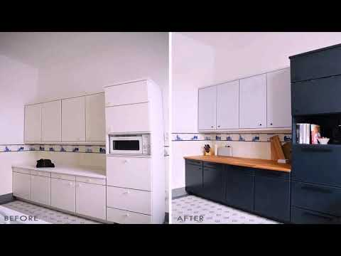 White Lacquer Kitchen Cabinets Ikea Youtube