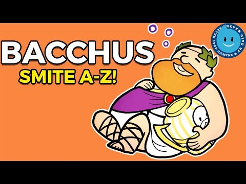 SMITE Bacchus A-Z! The King Of Burst Damage! Bacchus Gameplay, Guide and Build!