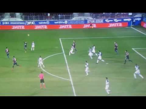 Eibar 3 vs Deportivo 1 Gol de Florian Lejeune