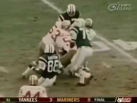 1971 GAME OF THE WEEK 49'ERS@ JETS
