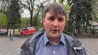 Західні туристи біля Верховної ради. Western tourists near Verkhovna Rada. 15/04/2014