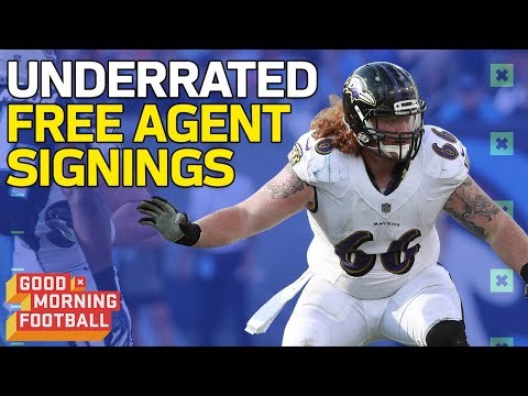 Download Youtube: The Most Underrated Free Agent Signings of 2018 | Good Morning Football | NFL Network