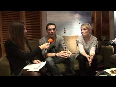 Antoine Clamaran & Soraya French Interview for NRJ, Nice, France