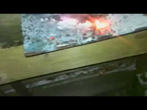 40g of Thermite on safe door