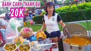 Hai vợ chồng từ Huế vào Sài Gòn bán Bánh Canh Bột Xắt 20 năm trên vỉa hè