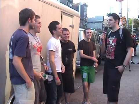 BETWEEN THE BURIED AND ME Interview 2005 | Metal Injection