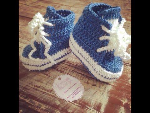 Носочки белые - 1 часть - Crochet socks - вязание крючком