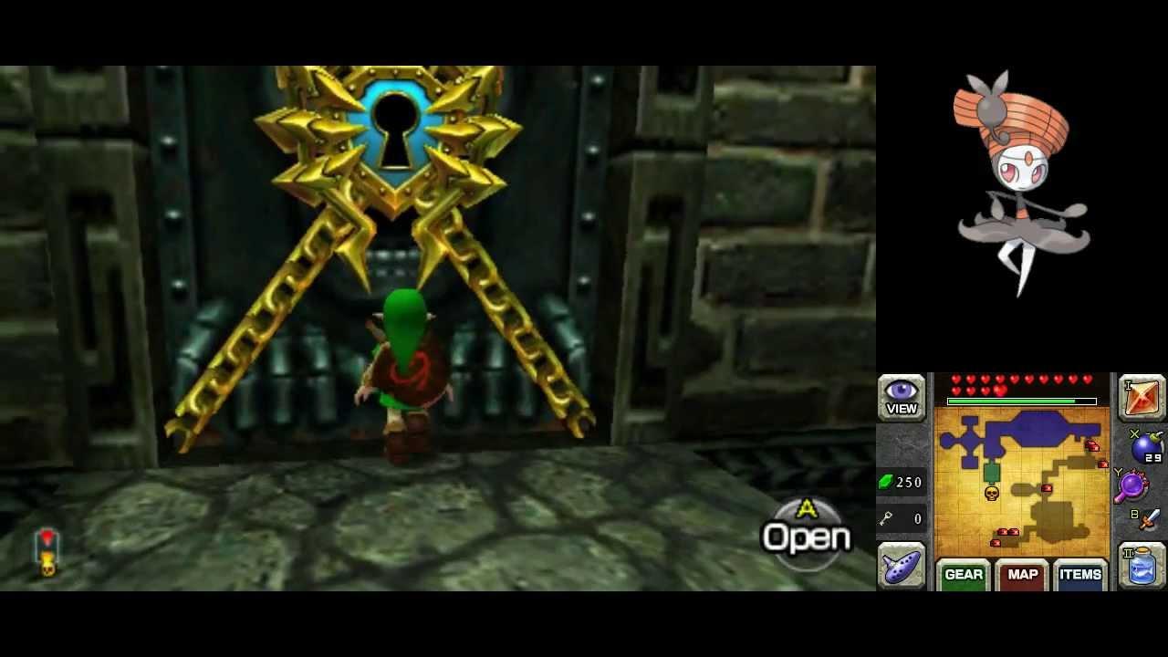 Ocarina of Time 3D defeat Bongo Bongo as Child Link and