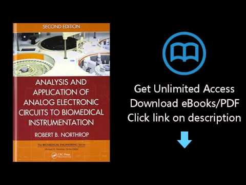 Download Analysis and Application of Analog Electronic Circuits to Biomedical Instrumentation, S PDF