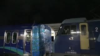 新津で生まれ屋代へ向かった、ライナー対応のしなの鉄道新型車両、しなの鉄道SR1系甲種輸送。