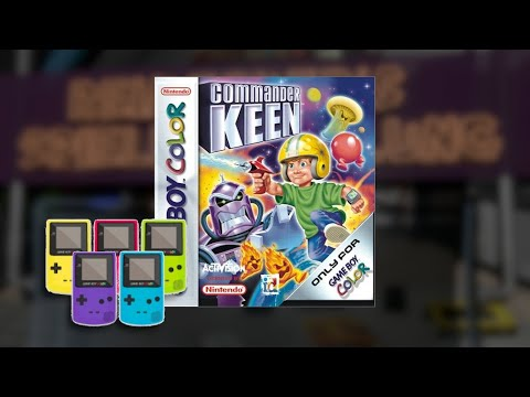 Gameplay : Command Keen [Gameboy Color]