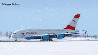 Plane Spotting At Vienna Airport Landings And Takeoffs compilation ( FSX / Flight Simulator X )
