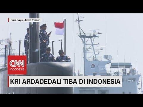 KRI Ardadedali dari Korsel Tiba di Indonesia