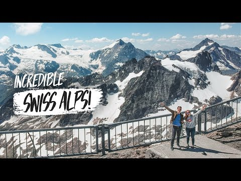 First Time in the SWISS ALPS!! 😍 - Incredible Day Trip from
