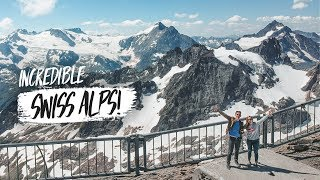 First Time in the SWISS ALPS!! 😍 - Incredible Day Trip from Zürich! (Mount Titlis)