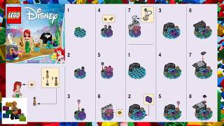 Baixar LEGO instructions - Disney Princess - 30552 - Ariel's Underwater Symphony