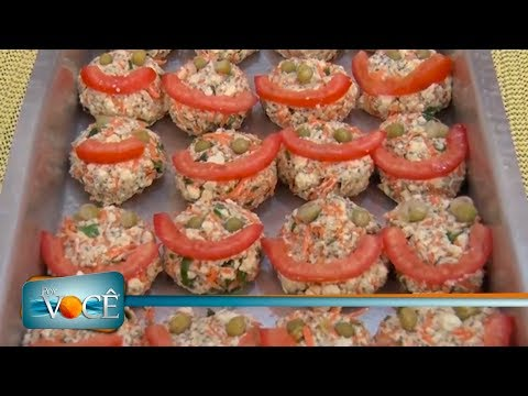 Por Você - Receita de Família: Bolinho de cenoura funcional 24/03/18
