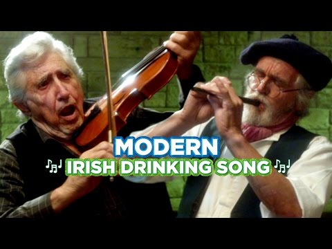The Modern Irish Drinking Song