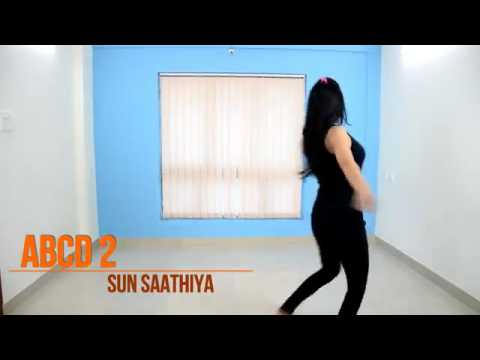 Sun Sathiya ABCD2 simple dance steps