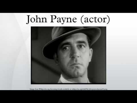 John Payne actor