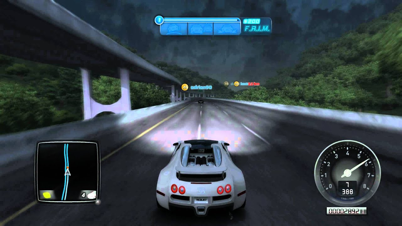 Test Drive Unlimited 2: Bugatti Veyron 16.4 Grand Sport VS Bugatti