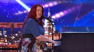 Britain's Got Talent 2019 Siobhan Phillips Comedic Musician Full Audition S13E01