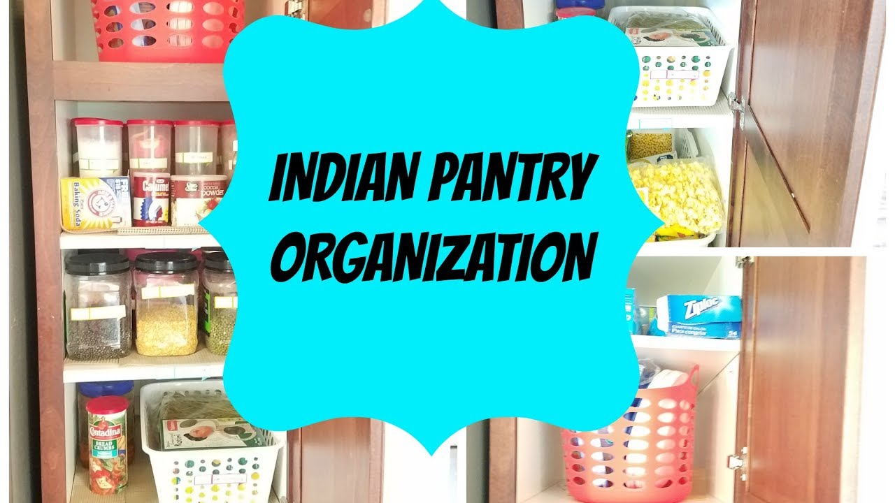 INDIAN Kitchen organization ideas| Indian pantry organization ...