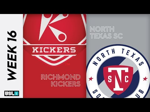 Richmond Kickers Vs. North Texas SC: July 13th, 2019