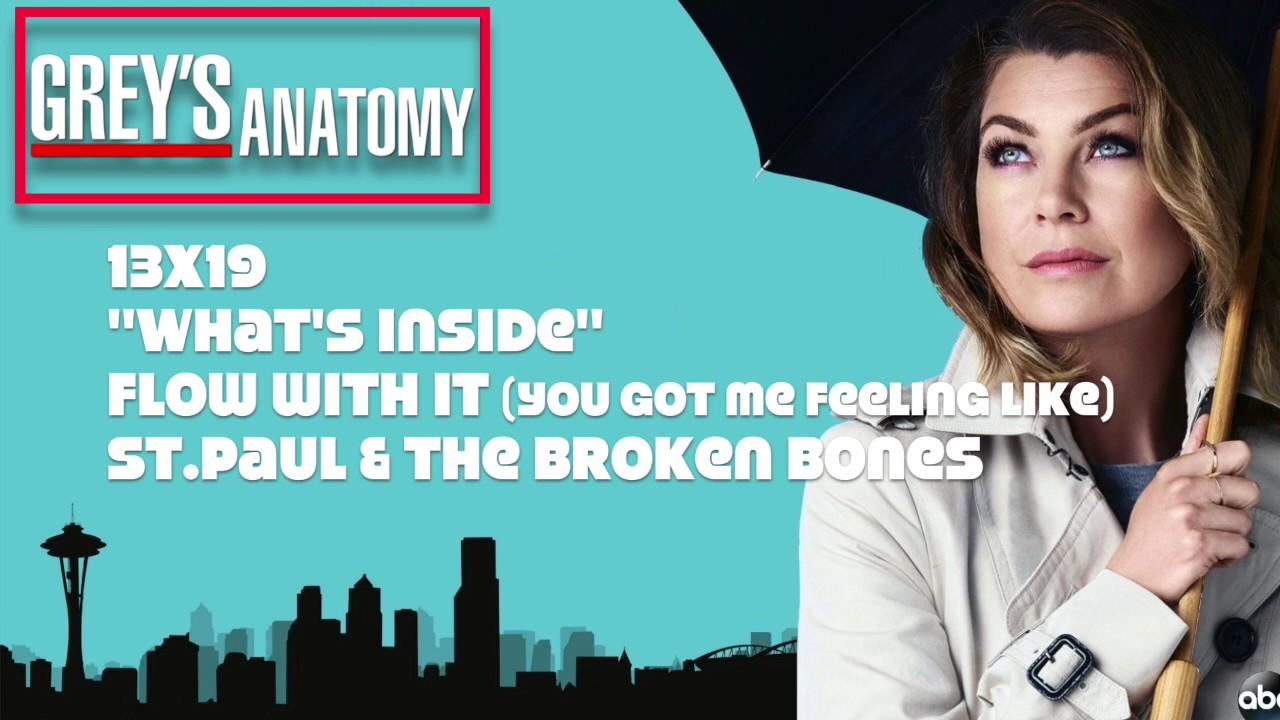 "Grey's Anatomy Soundtrack - ""Flow With It"" by St. Paul ..."