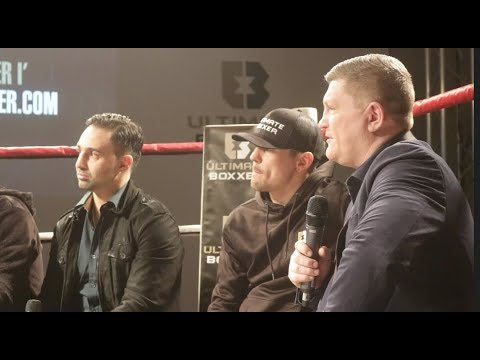 ULTIMATE BOXXER (COMPLETE) PRESS CONFERENCE W/ RICKY HATTON, PAULIE MALIGNAGGI, & ANTHONY CROLLA
