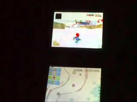 Partie de Mario Kart DS en Wi-Fi
