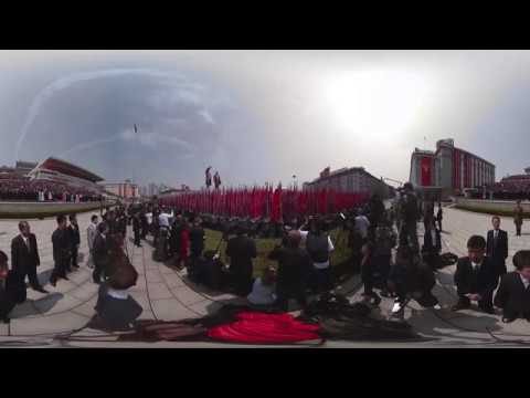 'Day of the Sun': Largest military parade in North Korea (360 VIDEO)