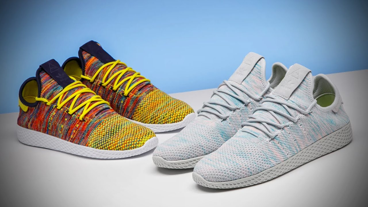 hot sale online 13697 2da64 *EXCLUSIVE* LOOK AT THE PHARRELL X ADIDAS TENNIS HU COLORWAYS DROPPING  SOON!!!