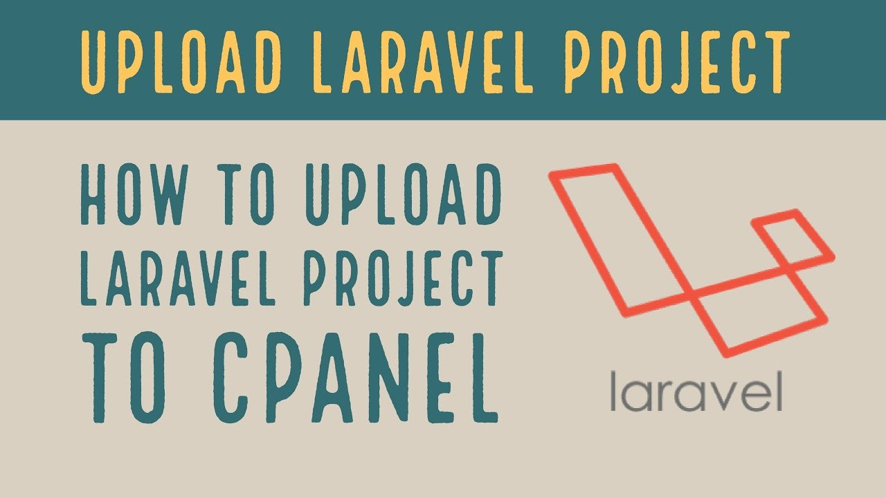 Deploy Laravel To Shared Hosting | upload laravel project to cPanel