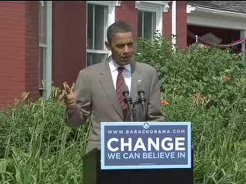 Barack Obama Reiterates his Stance on Iraq