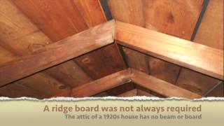 Is A Ridge Beam Required For A Roof Framed With Rafters?