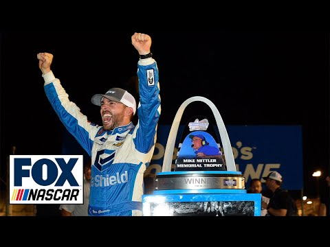 FINAL LAPS: Ross Chastain prevails on late restart to win at Gateway | NASCAR on FOX