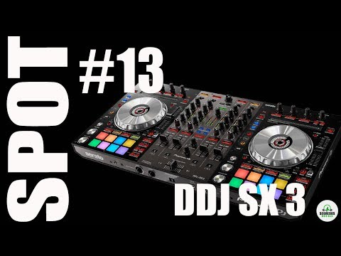 DDJ SX3 Controladora Pioneer Dj - SPOT