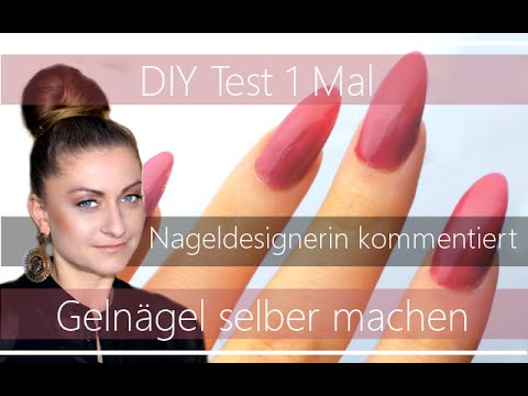 test geln gel selber machen mit kommentar korrektur einer nageldesignerin youtube. Black Bedroom Furniture Sets. Home Design Ideas