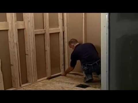 Multi-Piece Handicap Shower Installation