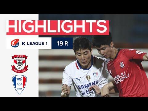 Sangju Sangmu Suwon Bluewings Goals And Highlights