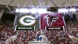 Madden 17: Green Bay Packers Vs Atlanta Falcons (2017 NFC Conference Championship)