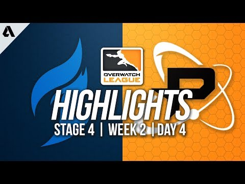 Dallas Fuel vs Philadelphia Fusion | Overwatch League Highlights OWL Stage 4 Week 2 Day 4