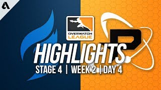 Dallas Fuel vs Philadelphia Fusion   Overwatch League Highlights OWL Stage 4 Week 2 Day 4