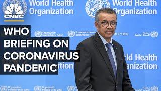 Baixar WATCH LIVE: World Health Organization holds a briefing on the coronavirus outbreak – 7/10/2020